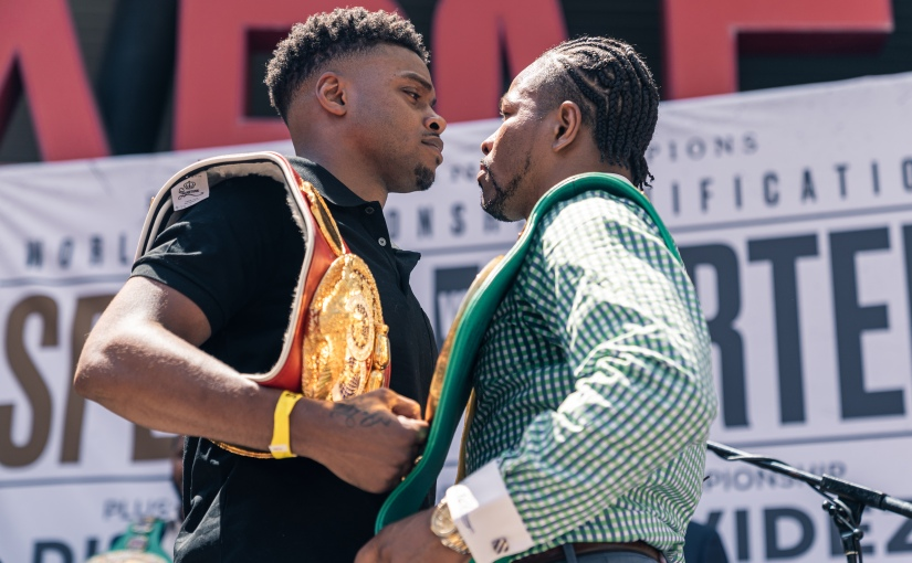 ERROL SPENCE JR VS. SHAWN PORTER LOS ANGELES PRESS CONFERENCE QUOTES & PHOTOS