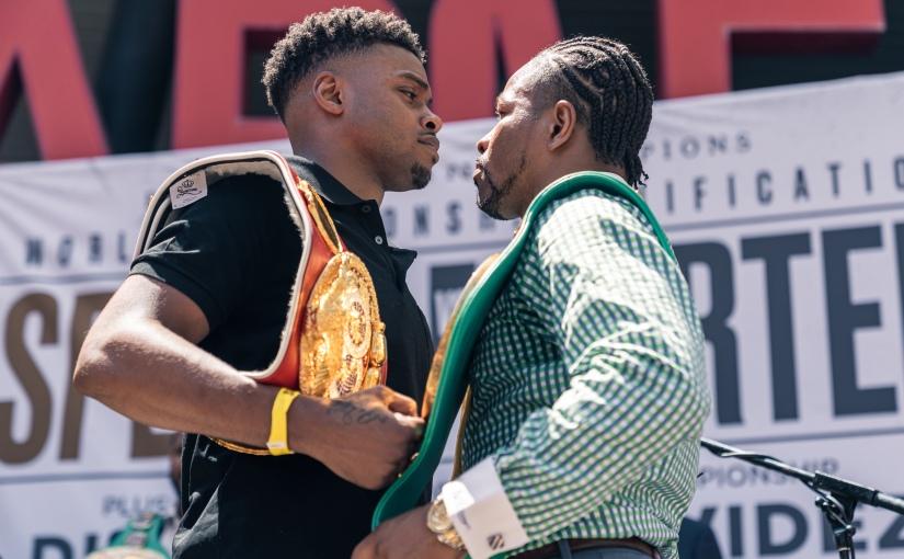 ERROL SPENCE JR VS. SHAWN PORTER LOS ANGELES PRESS CONFERENCE QUOTES &PHOTOS