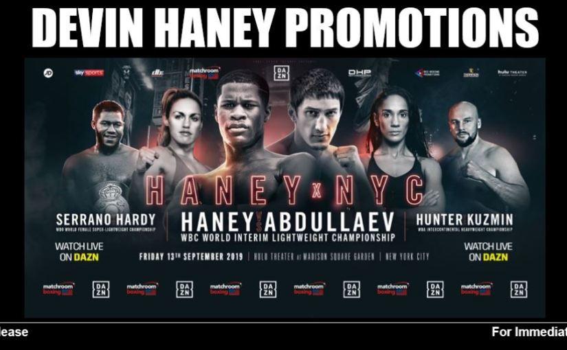 HANEY VS. ABDULLAEV WEIGH-INPHOTOS