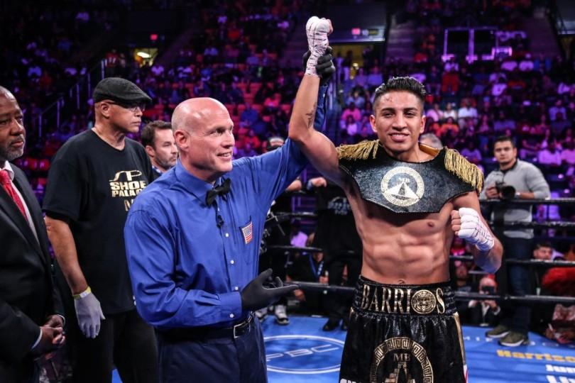 Photo Credit Leo Wilson Premier Boxing Champions